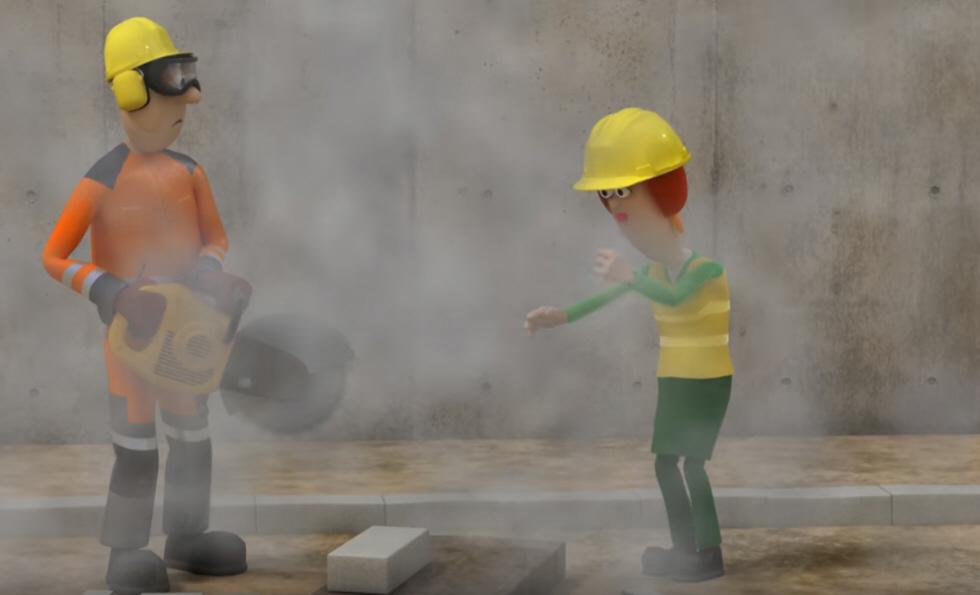 NAPO mostra os riscos da poeira no trabalho – Loxxi
